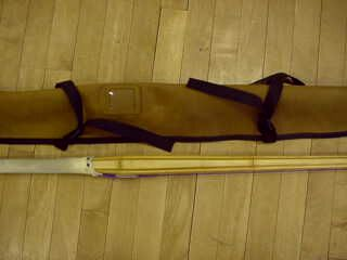 shinai bag, tag pouch
